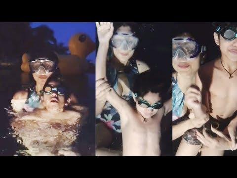 Shilpa Shetty Teaches Her Son Viaan How To Swim Underwater Mp3