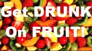 How To Make Alcohol Infused Fruit