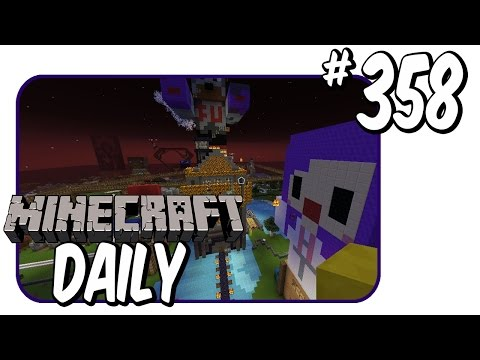 Statue Battles? | Minecraft Daily | Ep.358