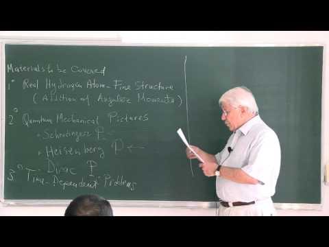 METU - Quantum Mechanics II - Week 1 - Lecture 1