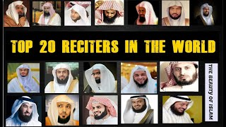 Cover images Top 20 reciters in the world