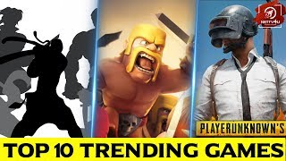 Trending Mobile Games Till Date! Which Is Your Favourite Mobile Game? Android Games|