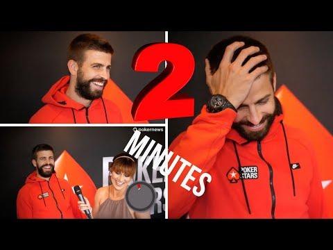 2 Minutes of Random Questions with Gerard Piqué