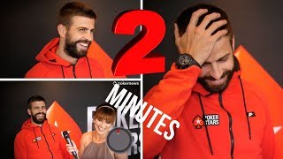 2 Minutes of Random Questions with Gerard Piqué