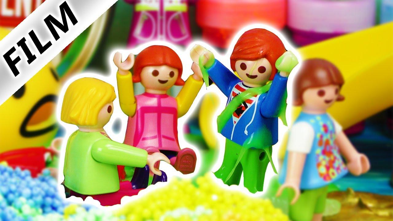 Playmobil Film Deutsch Ausflug In Schleim Glibber Park Mit Kita