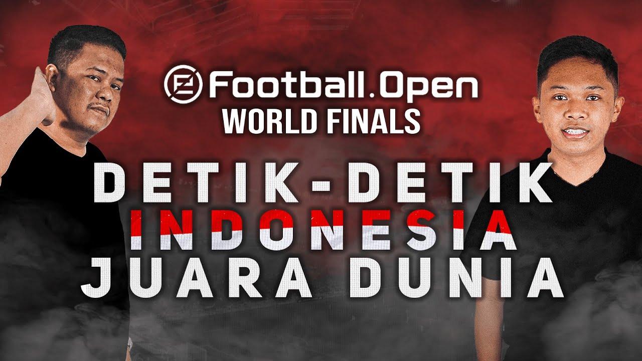 INDONESIA JADI JUARA DUNIA PES !!! | eFootball Open World Finals | Elul vs Sakti