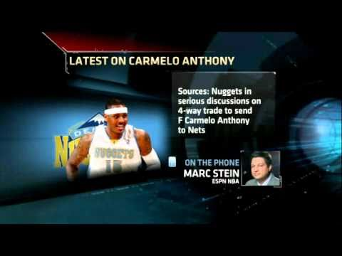 NBA Trade Rumors: Carmelo Anthony to be traded to the Nets