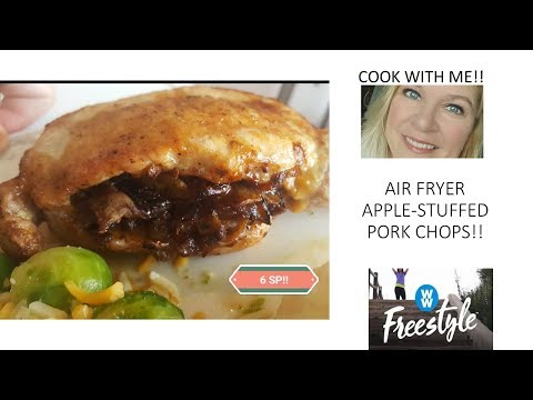 cook-with-me!-air-fryer-apple-stuffed-pork-chops!-|-ww-freestyle!