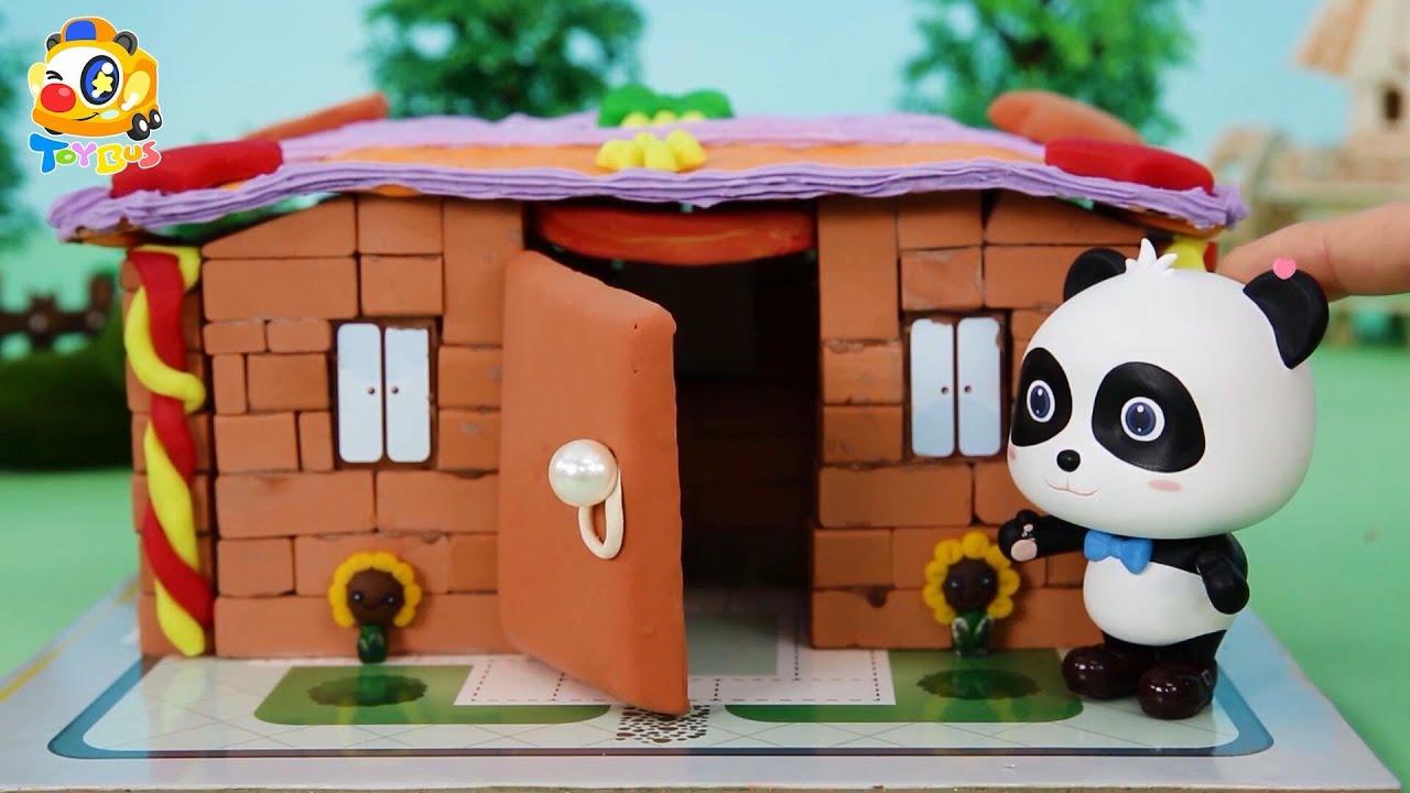 奇奇妙妙的新房子 | 寶寶玩具 | 兒童玩具 | 玩具巴士