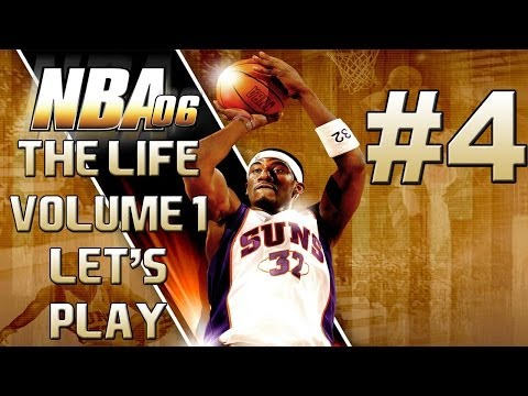 Let's Play: NBA 06 the Life Vol. 1 Part 4 - The 2006 NBA Draft!