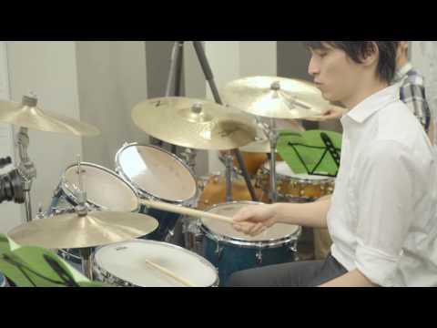 今、注目の若き才能 ピアニスト實川風が ドラム体験レッスン!