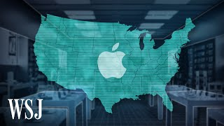 Why Apple Store Closures May Tell Us Where Covid-19 Will Hit Next | WSJ