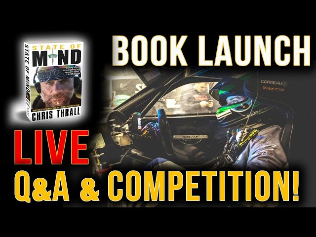 BOOK LAUNCH LIVE! | PLUS SPECIAL FORCES DRIVING EXPERIENCE GIVEAWAY