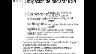 Lec021 Obligacion Declarar IRPF I (umh1429sp 2016-2017)