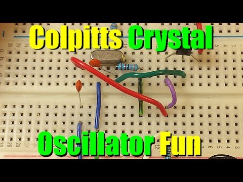Colpitts Crystal Oscillator
