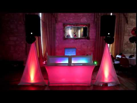 GQ ENTERTAINMENT SMALL DJ SYSTEM SPECIAL EVENTS