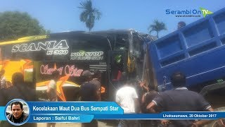 Video Kecelakaan Maut Dua Bus Sempati Star Laga Kambing download MP3, 3GP, MP4, WEBM, AVI, FLV Oktober 2017