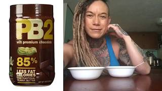 Powdered Peanut Butter / PB2 Chocolate Peanut Butter Review