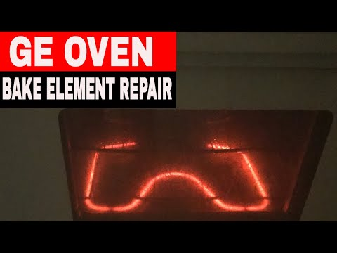 HOW TO REPLACE THE BAKE ELEMENT IN A GE OVEN