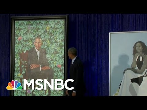 Why The Choices Matter: Obama Portraits Unveiled At National Portrait Gallery | MSNBC