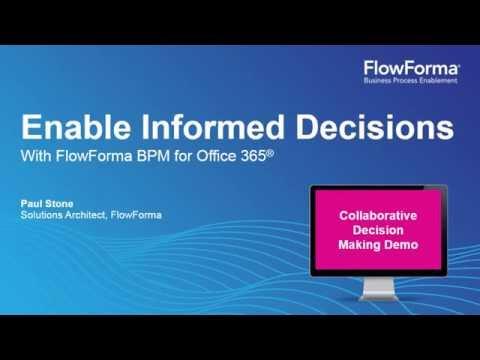 Decision Making Software I FlowForma