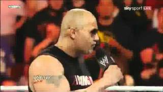 The Rock returns to Monday Night Raw - 2/14/11 (Part 2)