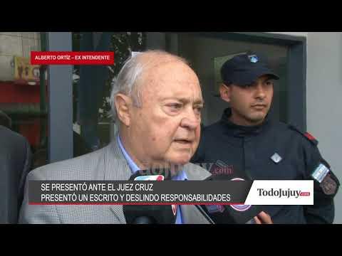 El exintendente Ortíz presentó un escrito y dijo que eran un pasamano