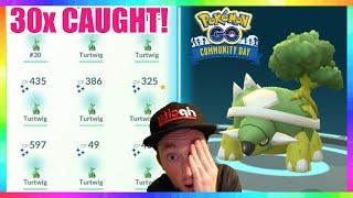30x SHINY TURTWIG CAUGHT on STREAM in Pokemon Go! Turtwig Community Day ( MOST SHINIES on STREAM )