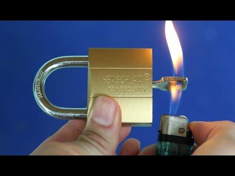 자물쇠와 4 놀라운 팁 - 생활 해킹