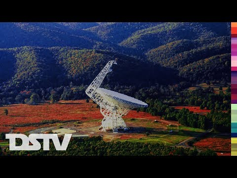 THE 140 FOOT RADIO TELESCOPE: CONSTRUCTION STORY - SPACE DOCUMENTARY (1964)