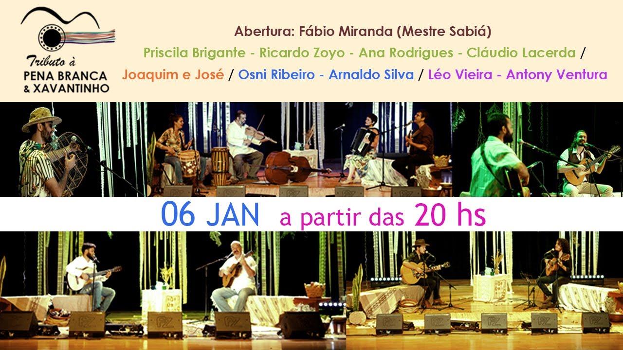 [6 jan - Estreia] Tributo à Pena Branca e Xavantinho | Festival de Arte Vale do Paraíba