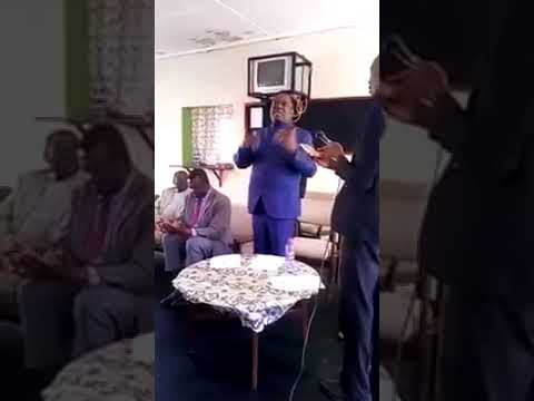 Mnangagwa back in zimbabwe