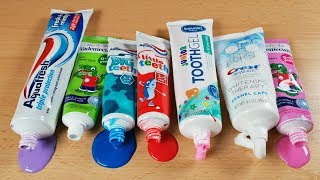 Making Slime With Toothpaste Tubes