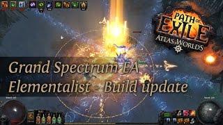 Path Of Exile 2.4: Grand Spectrum EA Elementalist - Build update