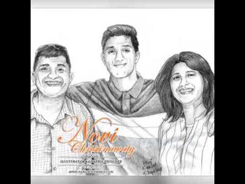 Sketsa Wajah Keluarga M Hewa Youtube