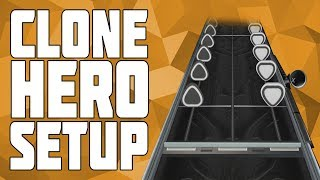 How to Play Clone Hero on PC! Install Custom Songs on Clone Hero! Clone Hero Setup Tutorial!