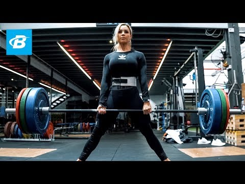 Stephanie Sanzo Deadlifting Routine