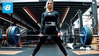 Stephanie Sanzo Deadlifting Routine