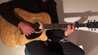 Say Something - Justin Timberlake ft. Chris Stapleton (Acoustic Guitar Cover)