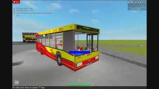 ROBLOX Slag Bus-self-created Route 1 CTB Depot to City roundabout (circular line)