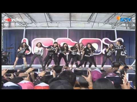 Cherrybelle ft Adila - I Am Super Swag (Live on Inbox Gotong Royong)