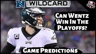 2019 NFL Playoff Predictions - NFC Wildcard Round - Vikings / Saints and Seahawks / Eagles