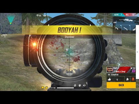 Sniper Only ( Kar98 AWM M82B ) Challenge - Free Fire - Desi Gamers