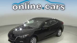 A10630GP Used 2014 Mazda3 i Touring FWD 4D Sedan Black Test Drive, Review, For Sale