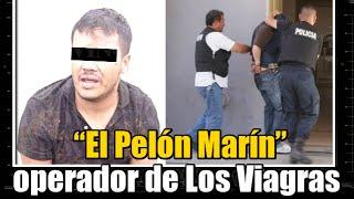 """Cae """"El Pelón Marín""""operador de Los Viagras"""