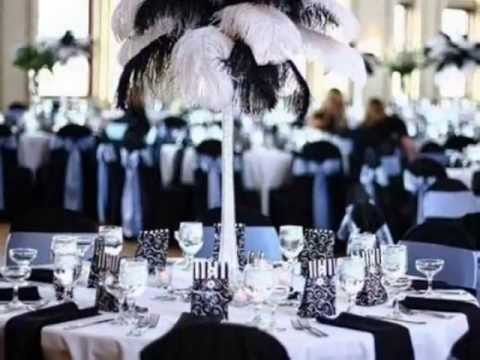 Black And White Wedding Theme Youtube