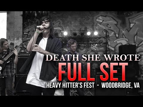 Death She Wrote - Full Set! - Live At VA's Heavy Hitter's Fest!