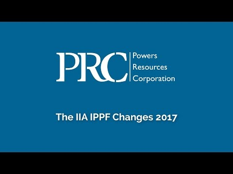 CIA Exam IPPF Changes 2017
