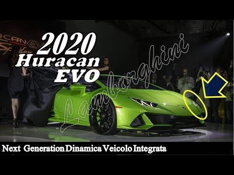 2019 Lamborghini Huracan Evo Interior