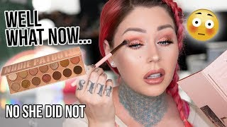 LAURA LEE SCREWED US. Nudie Patootie Palette (this is clickbait) | KristenLeanneStyle